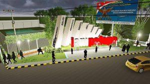 Palopo Bangun 3 Taman Penjelasan Judas Amir Desain Pattimura Direncanakan