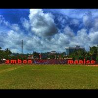 Pattimura Park Ambon Taman Foto Diambil Oleh 4y 5 8