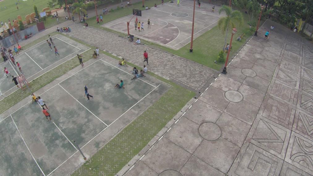 Perjuangan Pattimura Tegak Berdiri Jantung Kota Ambon Berbagai Aktifitas Olahraga