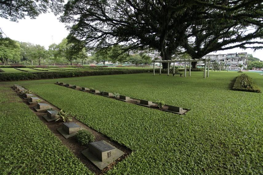 Taman Makam Persemakmuran Ambon Maluku Pattimura Kota