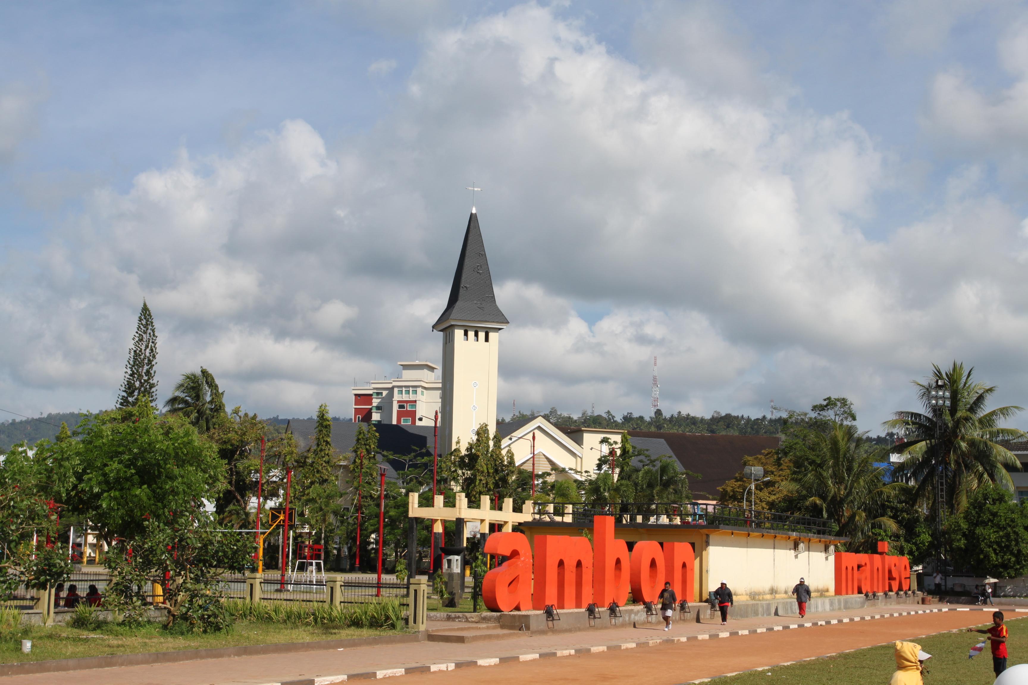 Taman Pattimura Ambon Park Wonderful Indonesia Pinterest Kota