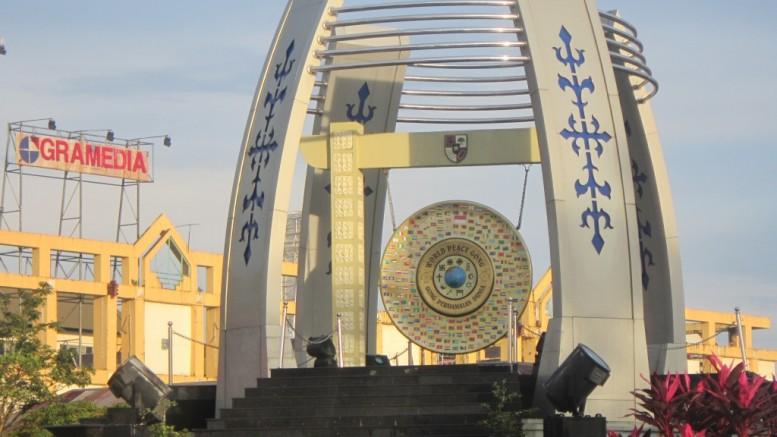 Tempat Wisata Kota Ambon Sekitarnya Gong Perdamaian Taman Pattimura