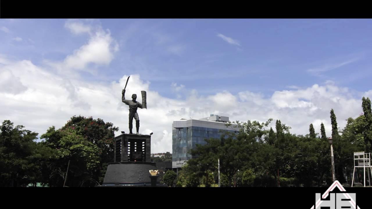 Timelapse Patung Pattimura Youtube Taman Kota Ambon