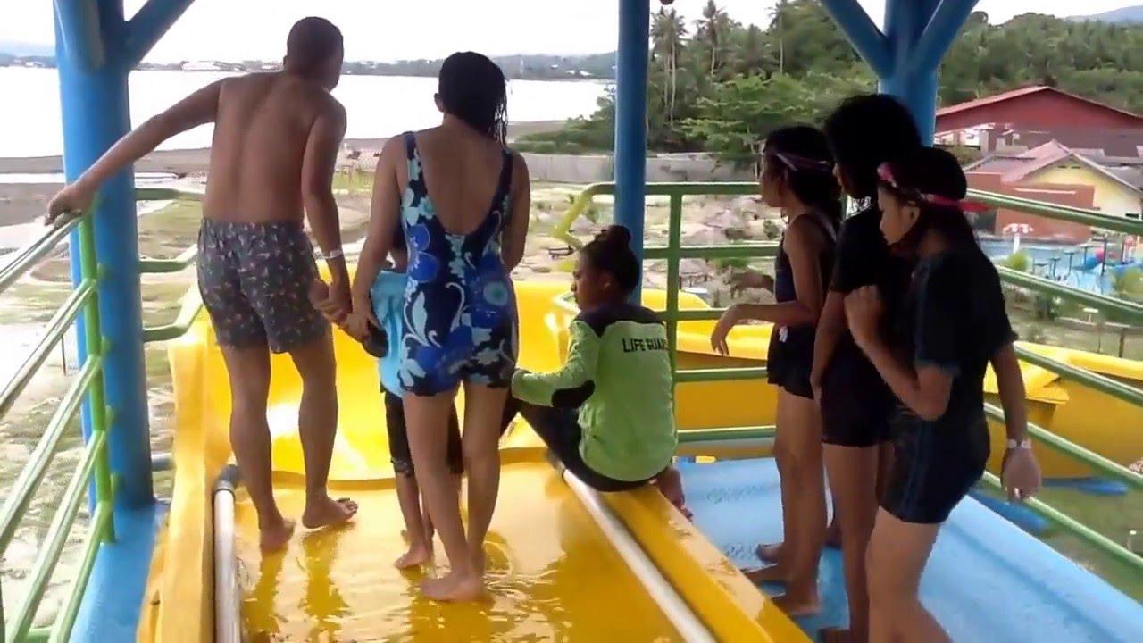 Spiral Slide 9 Meter 3 Waterbum Waitatiri Ambon Youtube Waterboom