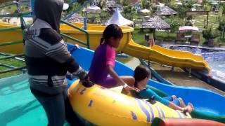 Viyoutube Menggunakan Ban Seluncuran Tube Slide Waterboom Waitatiri Kota Ambon