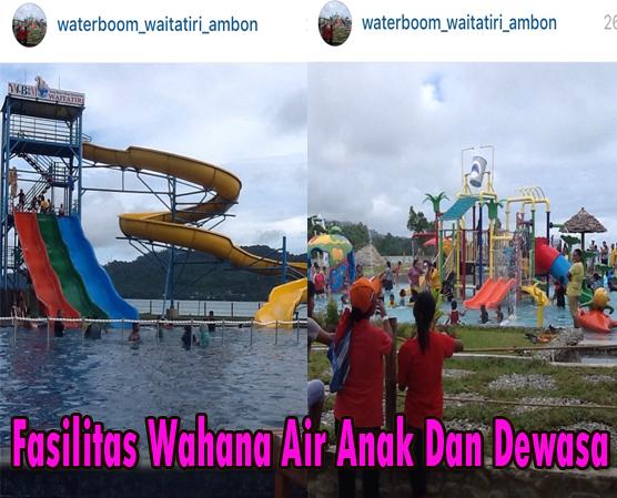 Watatiri Water Boom Hadirkan Destinasi Wisata Maluku Wahana Air Anak