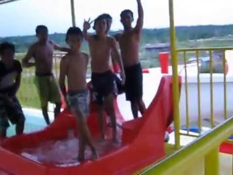 Waterboom Kendari Test Youtube Waitatiri Kota Ambon