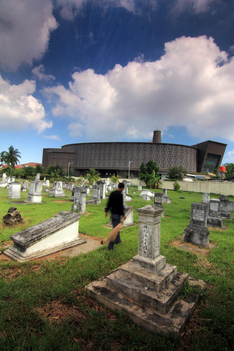 Beranda Balai Pelestarian Cagar Budaya Banda Aceh Rutinitas Makam Kerkhof