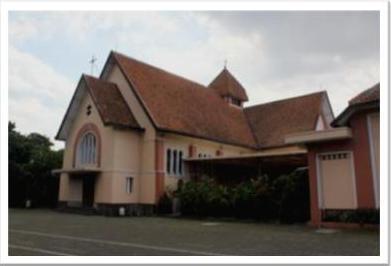 Cimahi Kota Garnisun Balai Pelestarian Cagar Budaya Banten Gereja Santo