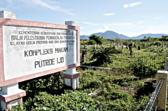 Komunitas Iloveaceh Kompleks Makam Putroe Ijo Raja Kampung Pande Tuan