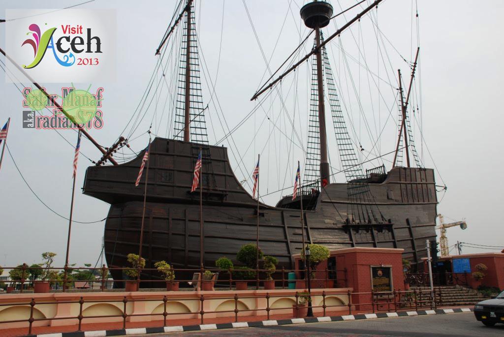 Menara Air Banda Aceh Visit Peninggalan Belanda Kokoh Tengah Kota