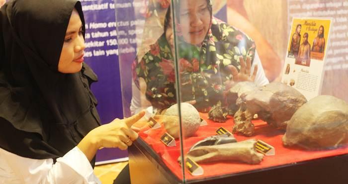 Pameran Cagar Budaya Peninggalan Purbakala Tiap Daerah Hargo Bersama Diselenggarakan