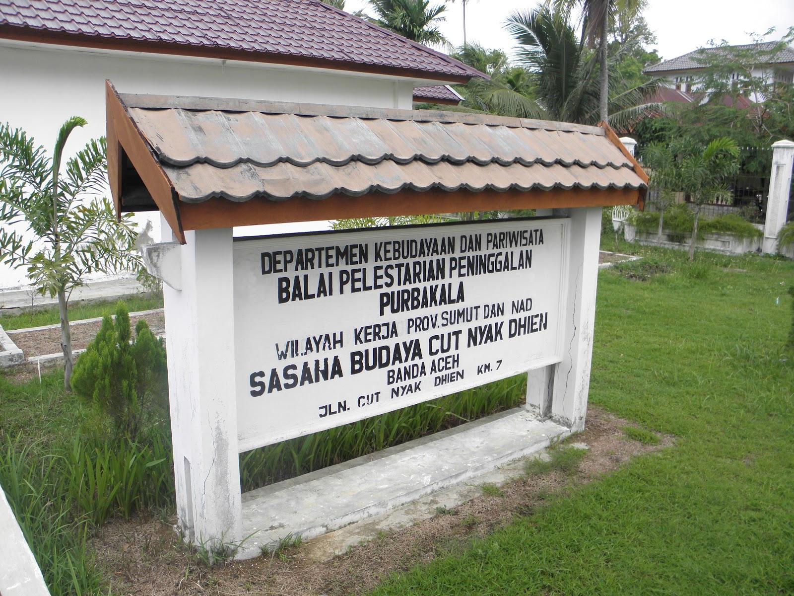 Serbaserbiku Museum Cut Nyak Dhien Berbentuk Rumah Tradisional Aceh Rumoh