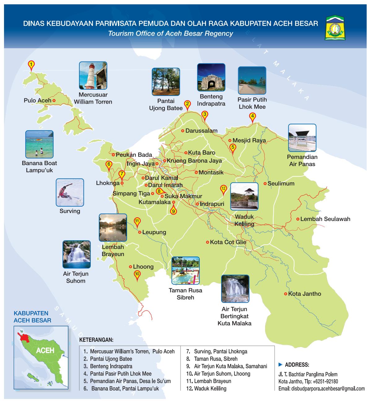 Aceh Besar Pinto Kutaraja Drs Abdurrahman Ahmad Potensi Sumber Daya