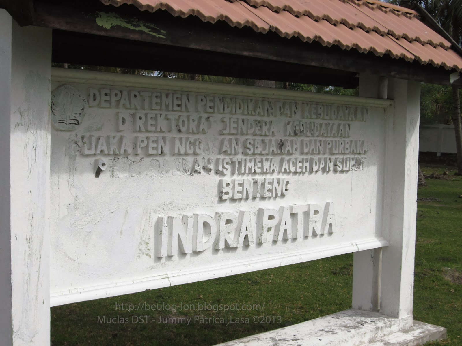 Benteng Indra Patra Bukti Historis Perlahan Terkikis Indrapatra Kota Banda