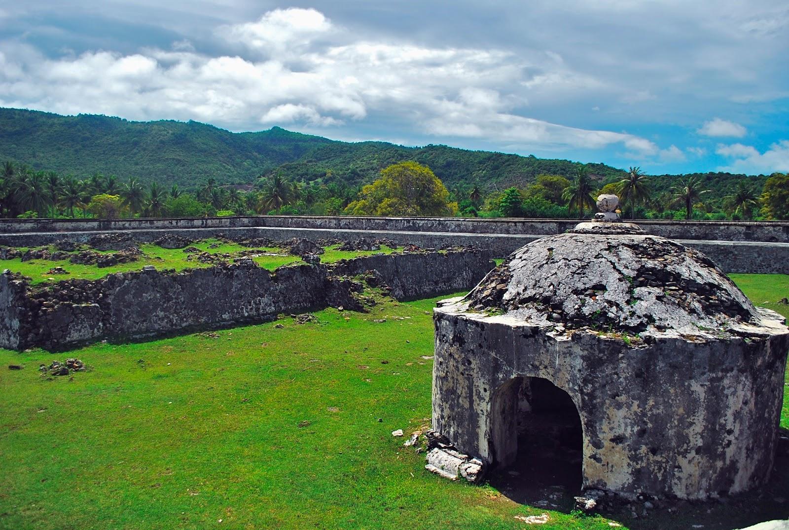 Benteng Indra Patra Bukti Sejarah Hindu Buddha Aceh Indrapatra Kota