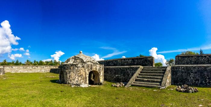 Benteng Indra Patra Situs Peninggalan Sebelum Kerajaan Islam Aceh Net