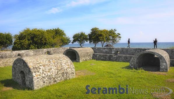 Benteng Indrapatra Infoku Kota Banda Aceh