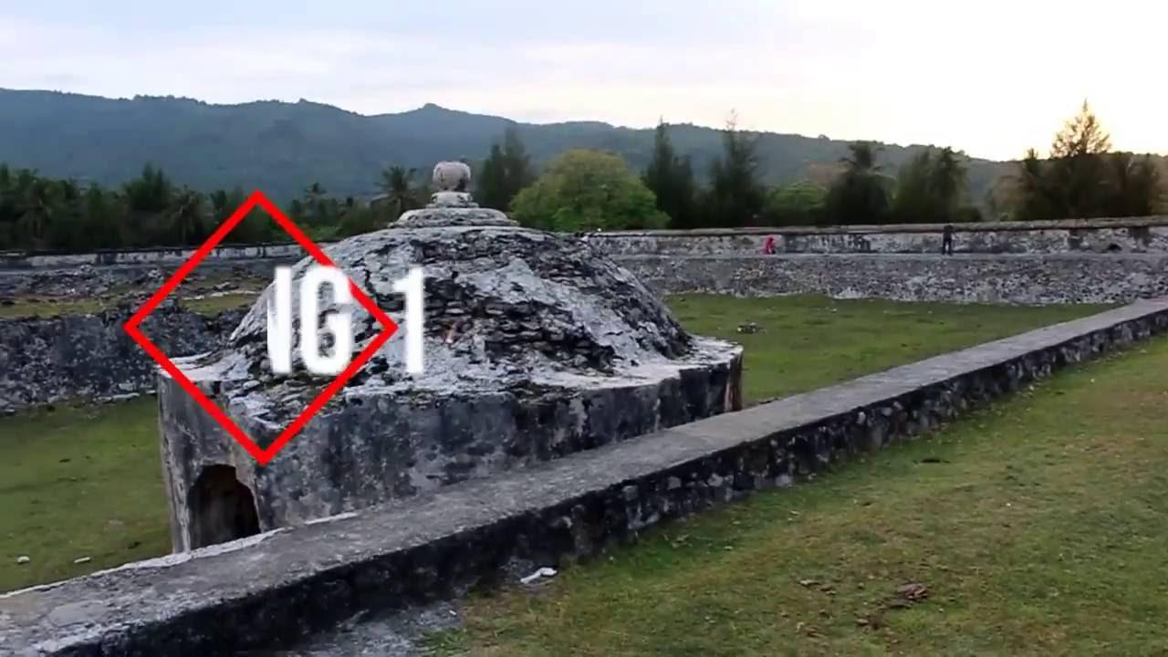 Benteng Indrapatra Peninggalan Sultan Iskandar Muda Fortress Kota Banda Aceh