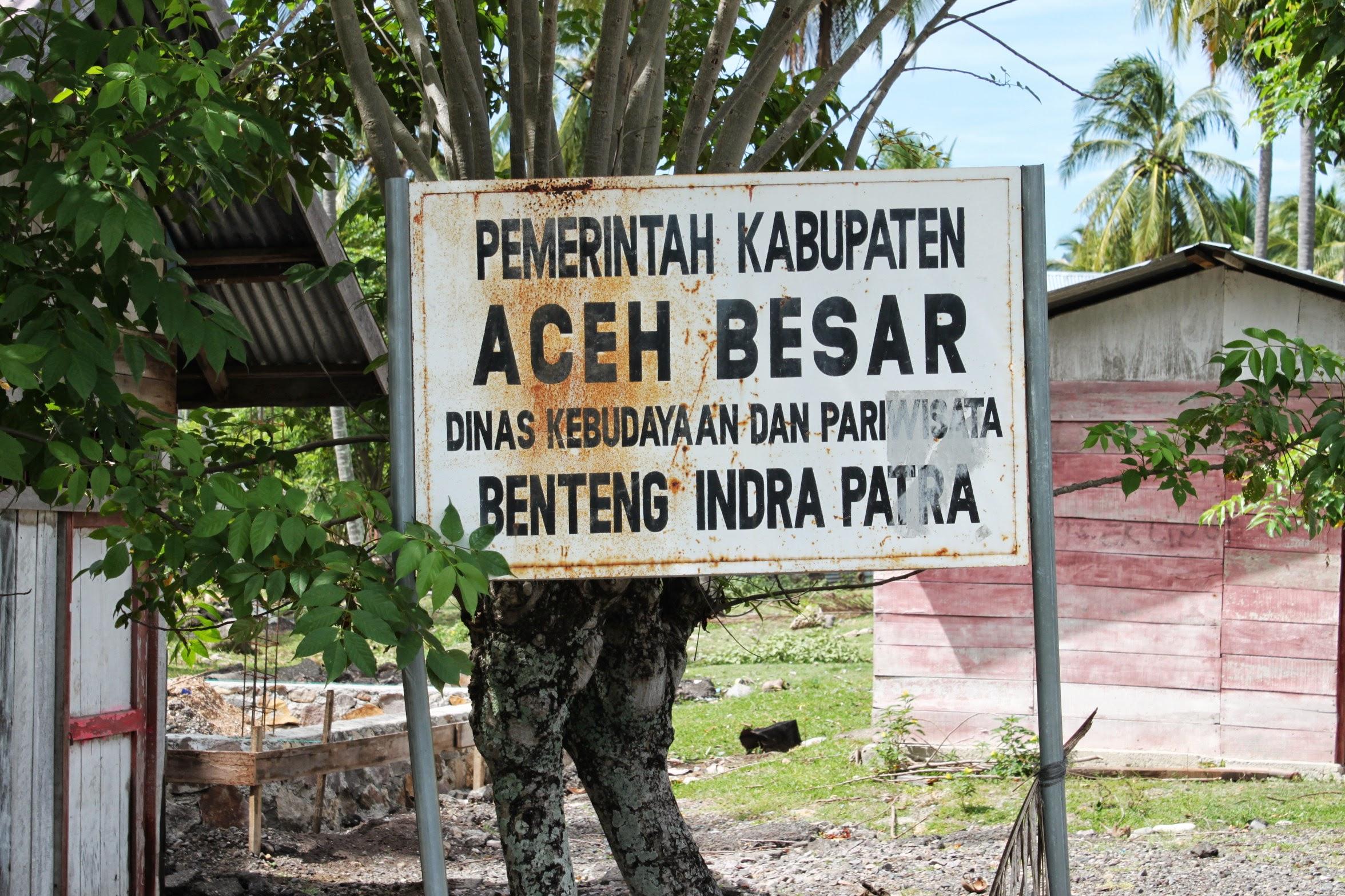 Benteng Indrapatra Saksi Kemunculan Islam Aceh Kota Banda