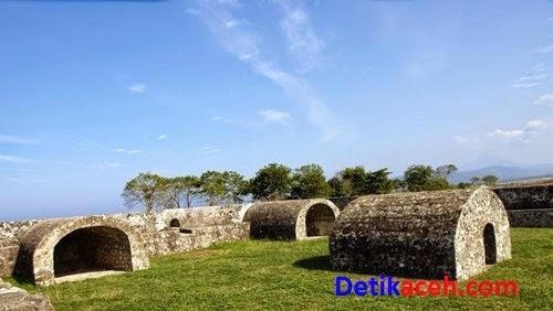 Kisah Sejarah Benteng Indra Patra Aceh Detikaceh Sekitar Pantai Ujoeng