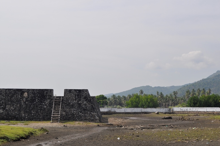 Menyusuri Indahnya Benteng Kawasan Lamuri Banda Aceh Indrapatra Peninggalan Kerajaan