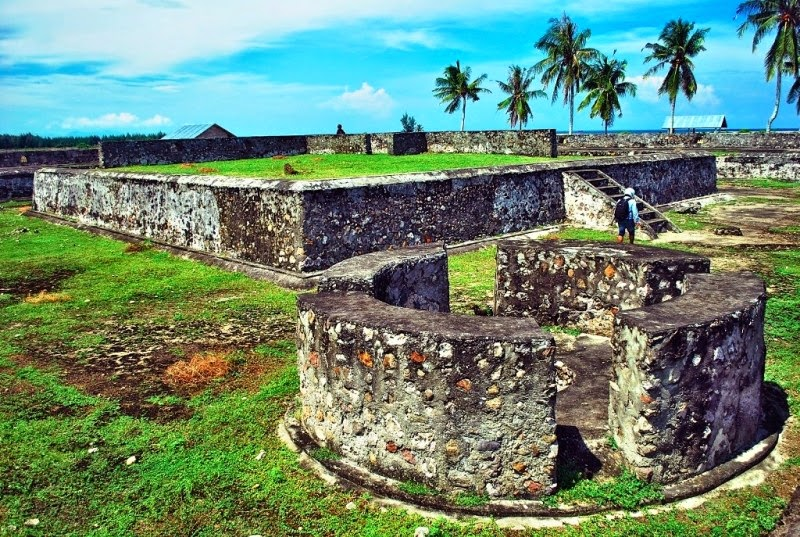 Objek Wisata Benteng Indra Patra Aceh Linta5 Indonesia Jejak Warisan