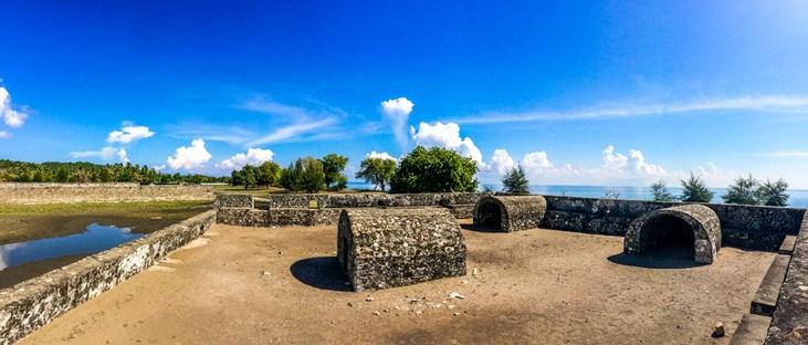 Wisata Sejarah Benteng Indra Patra Krueng Raya Visit Aceh Dalamnya