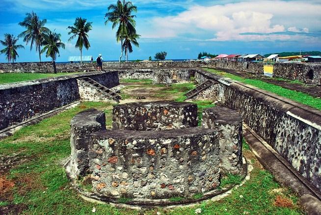Wisata Sejarah Benteng Indra Patra Krueng Raya Visit Aceh Kawasan