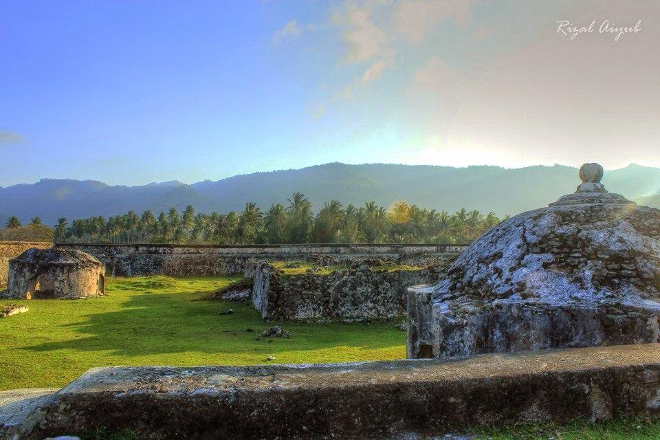 Wisata Sejarah Benteng Iskandar Muda Indra Patra Foto Rizal Aiyubi