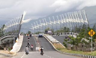 Banda Aceh Model Kota Madani Place Blessed Natural Beauty Jembatan