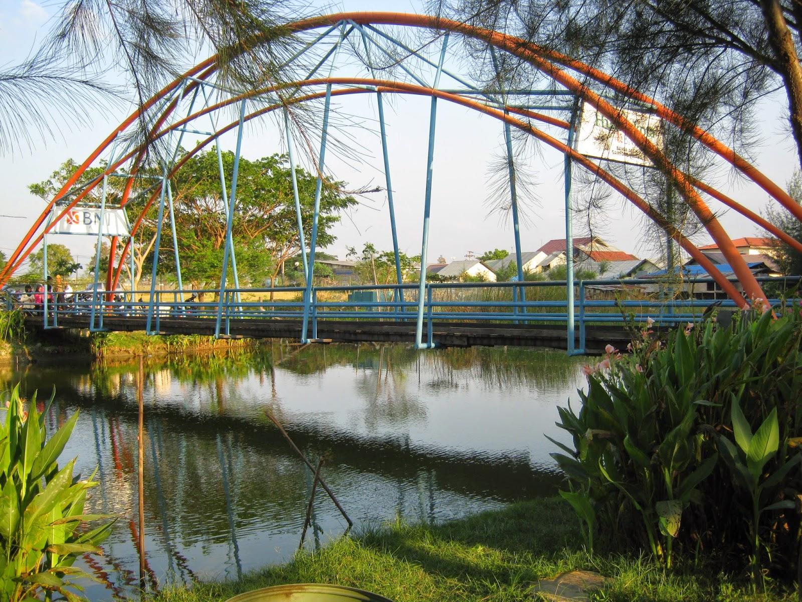 Cantiknya Taman Walikota Nusantara Banda Aceh Love Hutan Kota Bni
