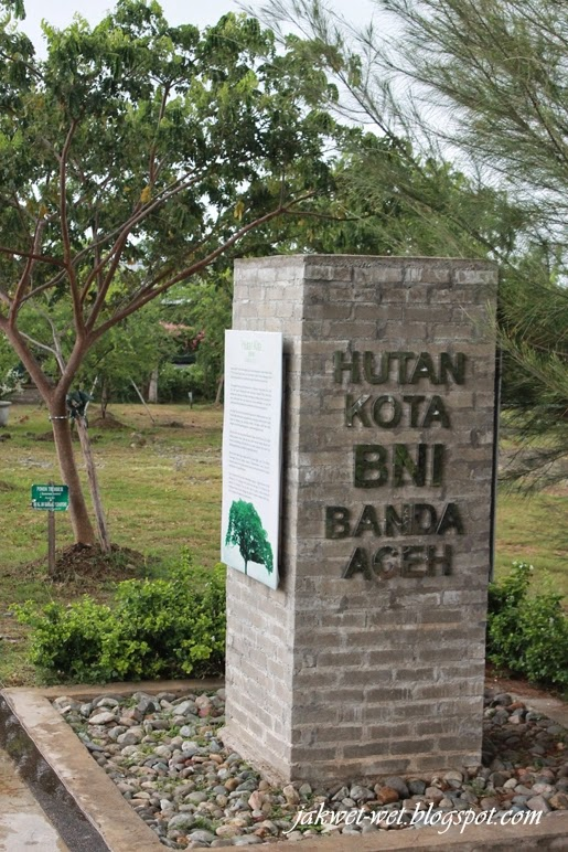 Fhoto Hutan Kota Bni Banda Aceh Perjalanan Rahmad Amien