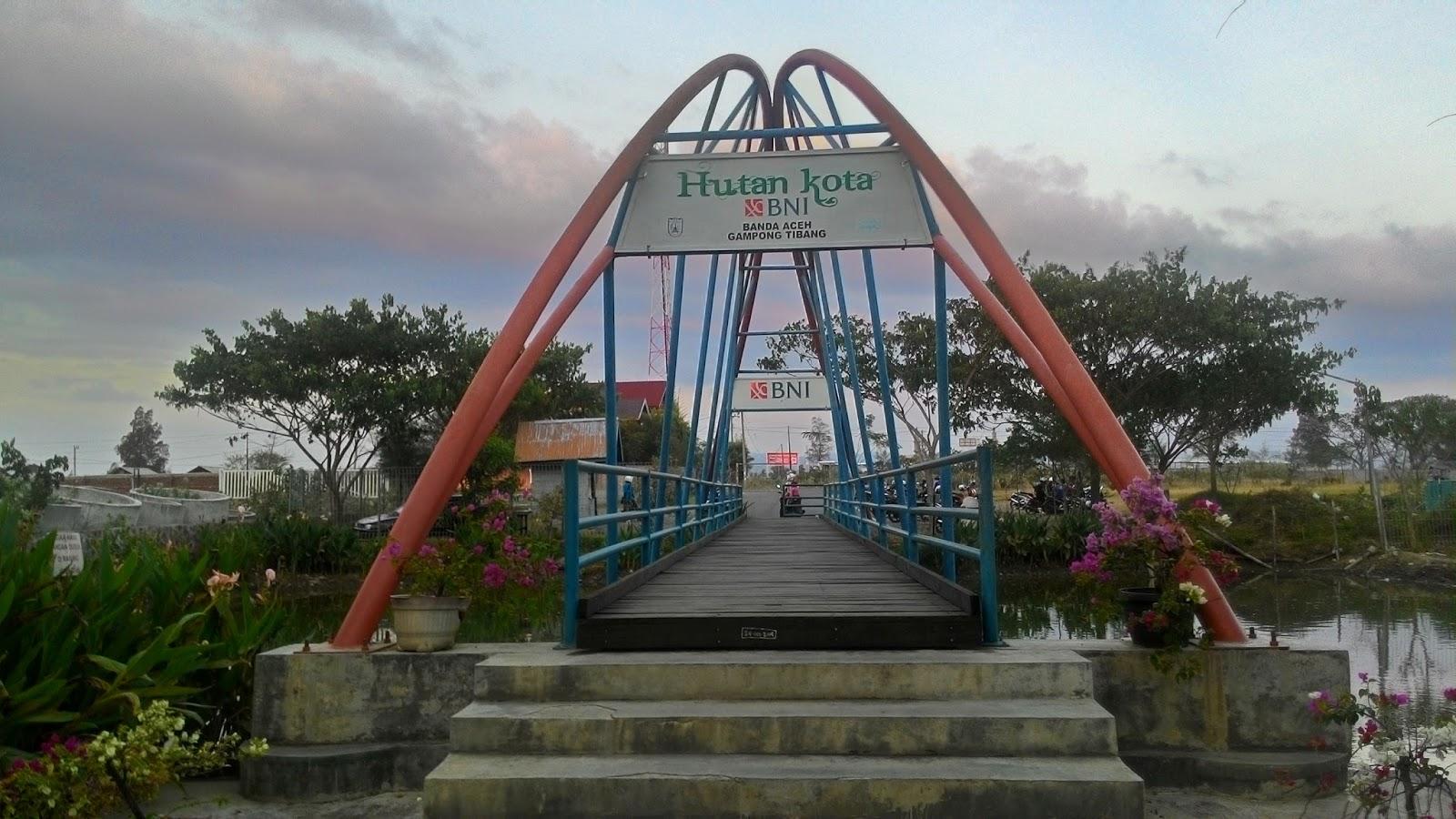Hutan Kota Banda Aceh Berawal Mimpi Nowayreturn Areal Seluas 7