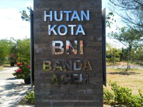 Hutan Kota Bni Banda Aceh Model Madani Daerahnya Sebelumnya Lahan