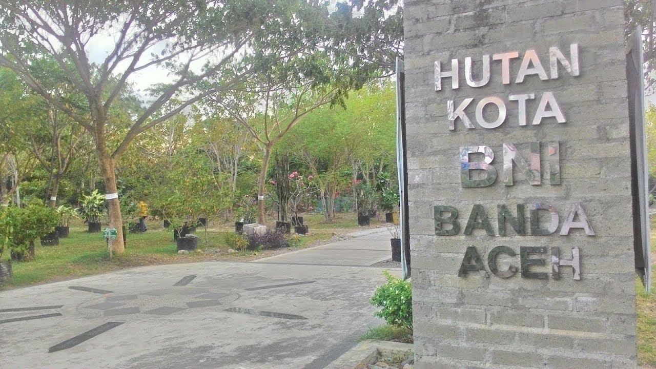 Hutan Kota Bni Tibang Banda Aceh Youtube