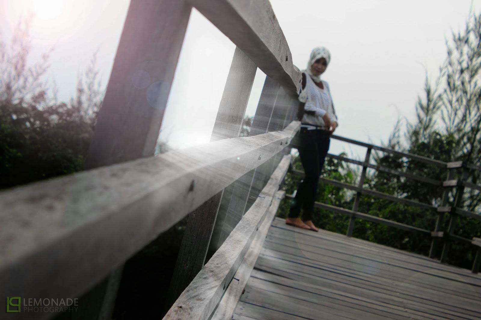 Le Ra Mencuri Secuil Keindahan Hutan Kota Bni Banda Aceh