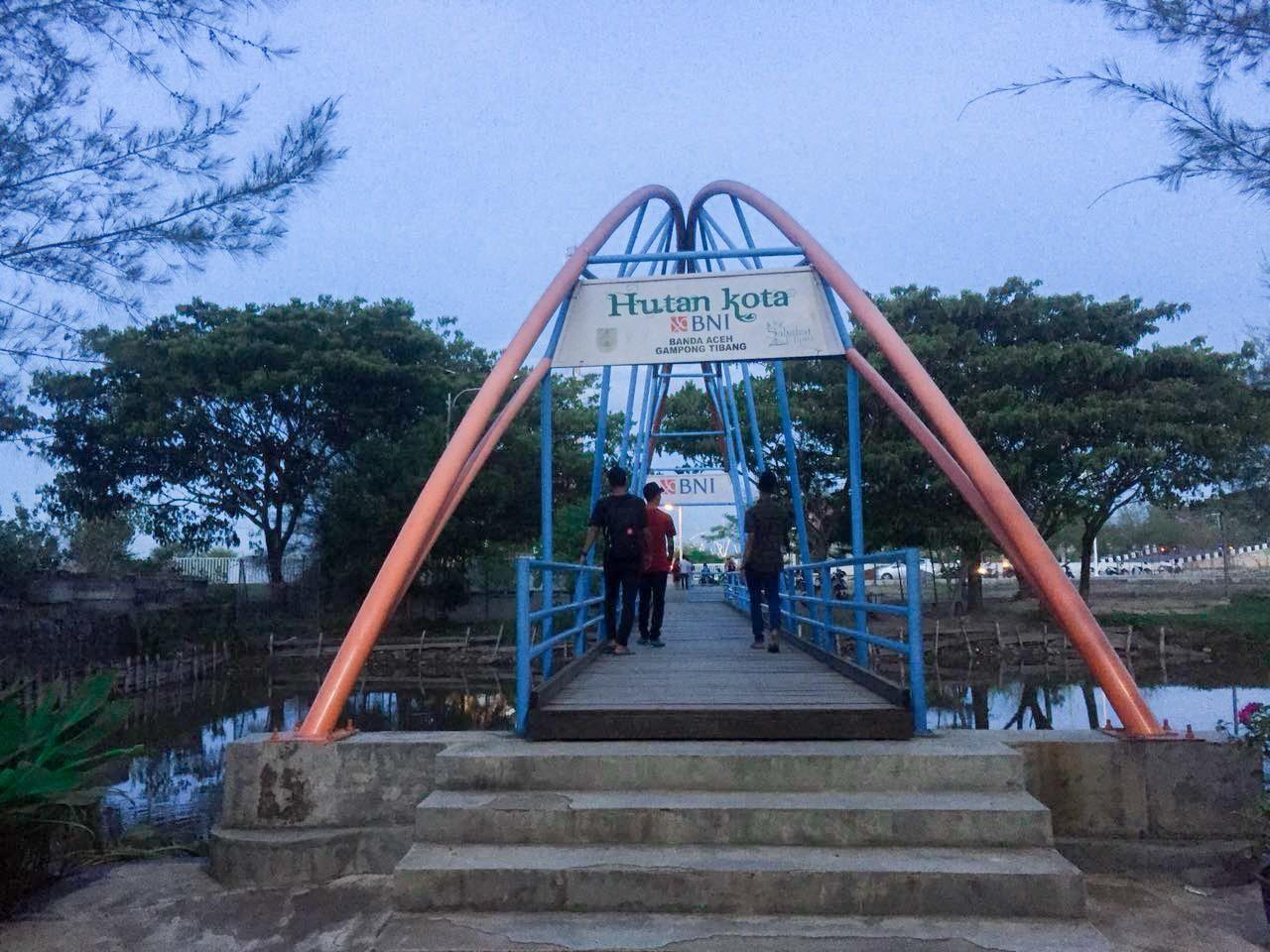 Wisata Taman Kota Banda Aceh Steemit Hutan Terletak Desa Tibang