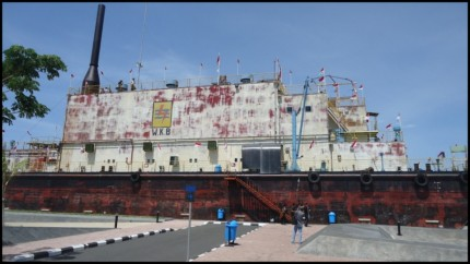 6 Objek Wisata Mengenang Tsunami Aceh Bobo Id Pltd Apung