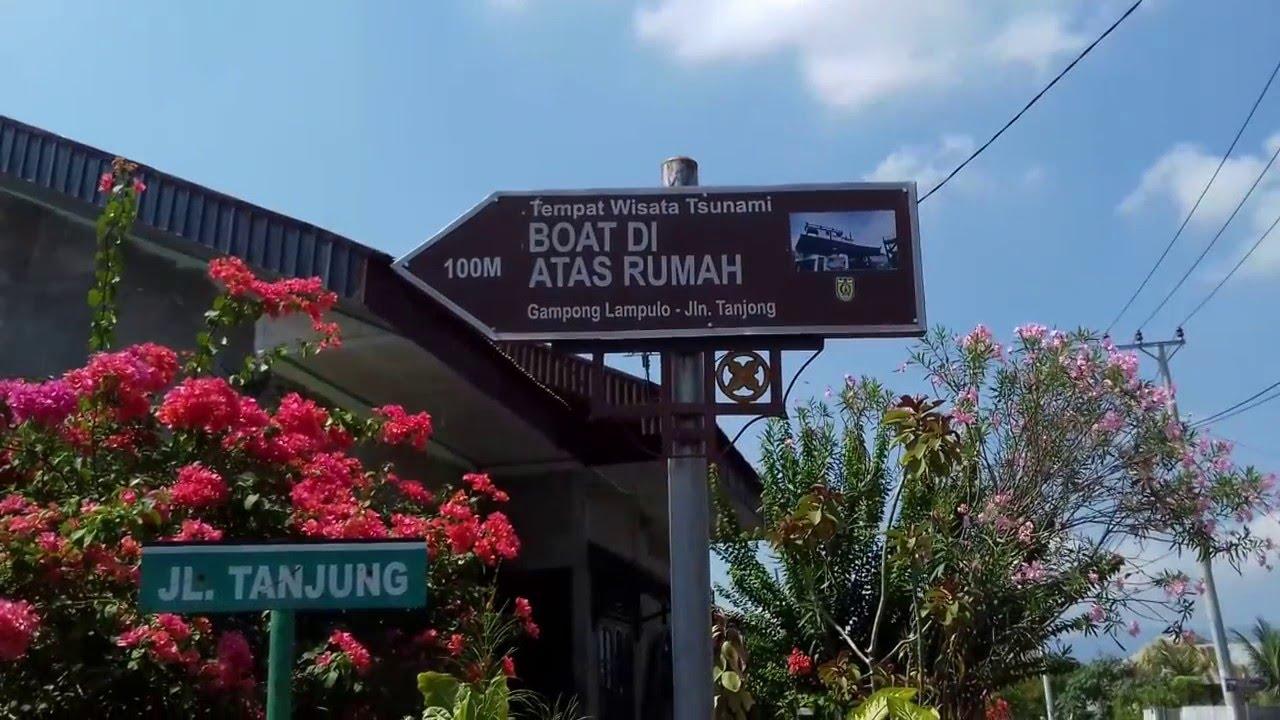 Kapal Atas Rumah Banda Aceh Youtube Tsunami Kota