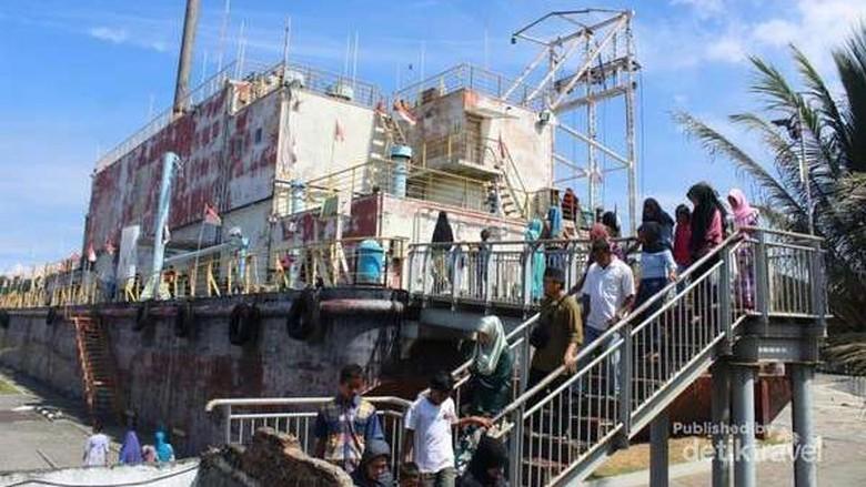 Kapal Pltd Apung Saksi Bisu Dahsyatnya Tsunami Aceh Banda Zulfan