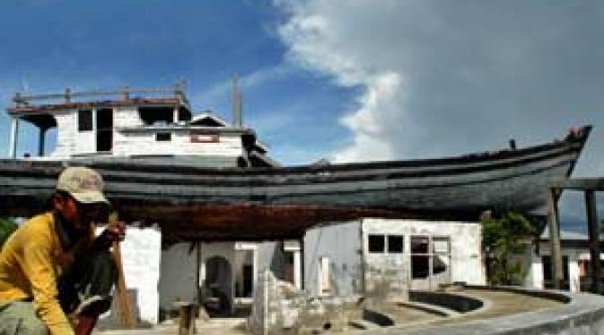 Kisah Kapal Nuh Penyelamat 59 Warga Aceh Tsunami News Pembangunan