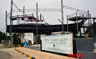 Semut Iren6 Bukti Kedasyatan Tsunami Aceh Kapal Apung Lampulo Kota