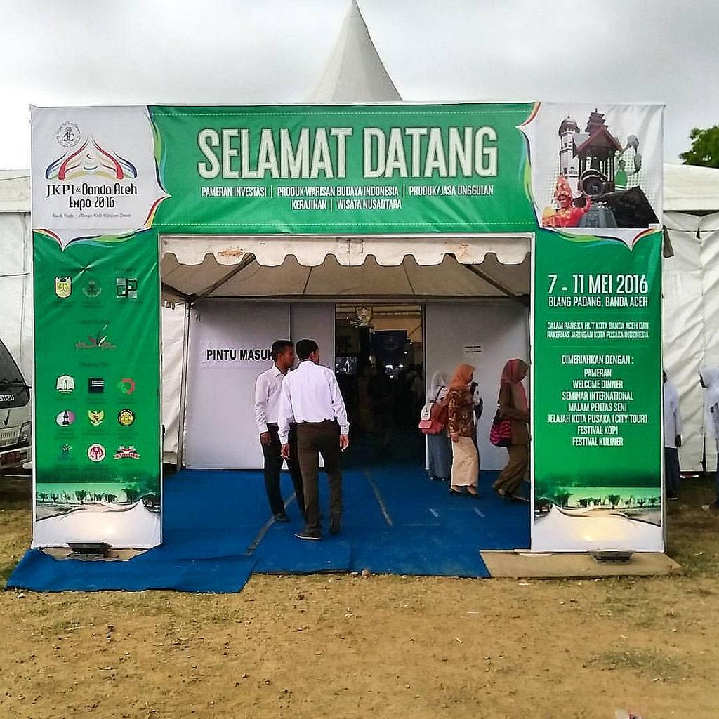 Arena Stand Pameran Jkpi Jaringan Kota Pusaka Indonesia Flickr Banda