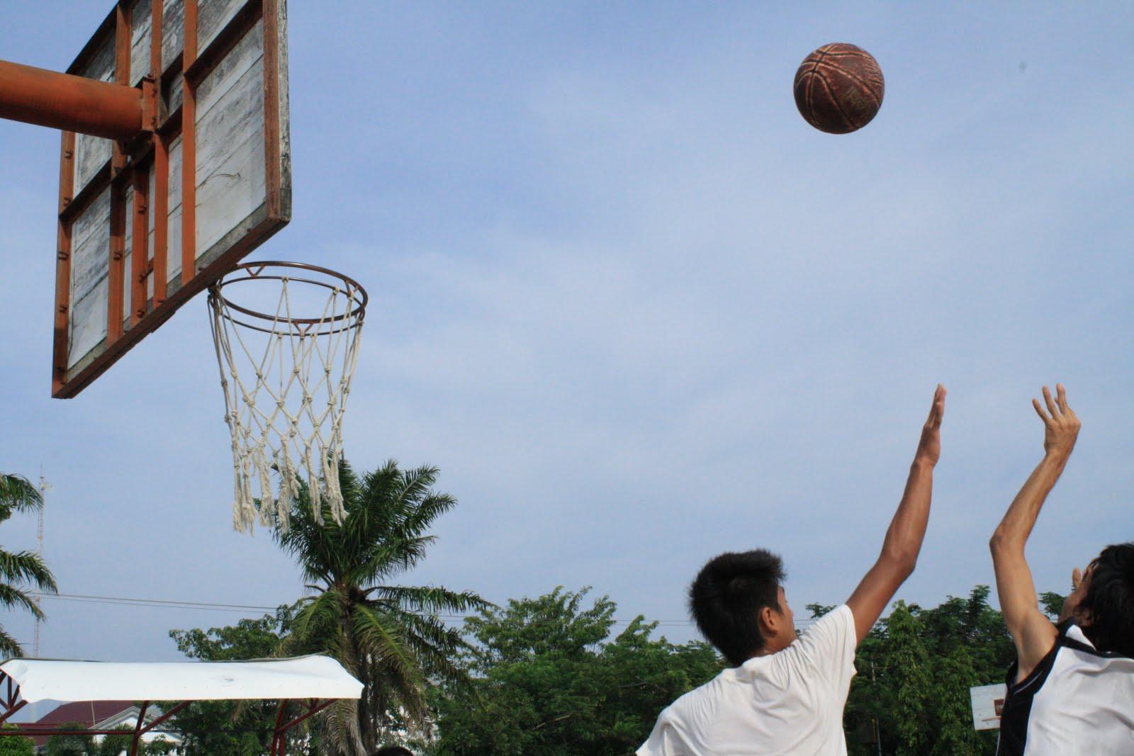 Banda Aceh Basket Era 1990 Olah Raga Bola Lapangan Blang