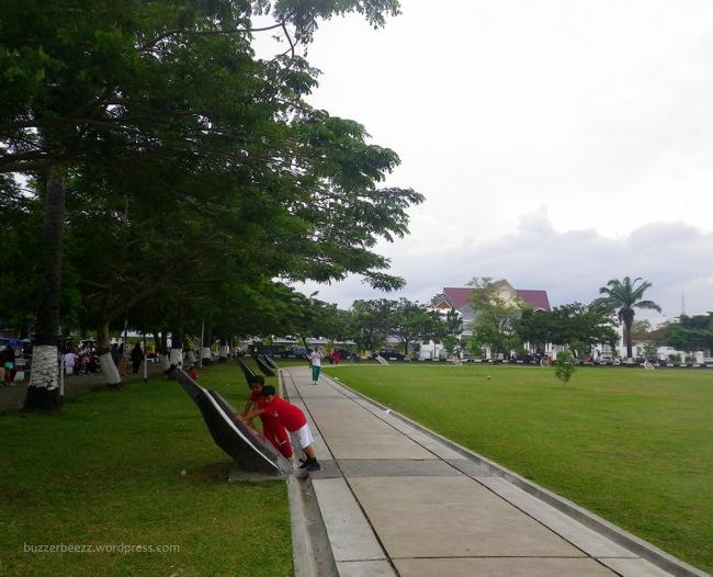 Banda Aceh Sehari Science Life Lapangan Blang Padang Pagi Kota