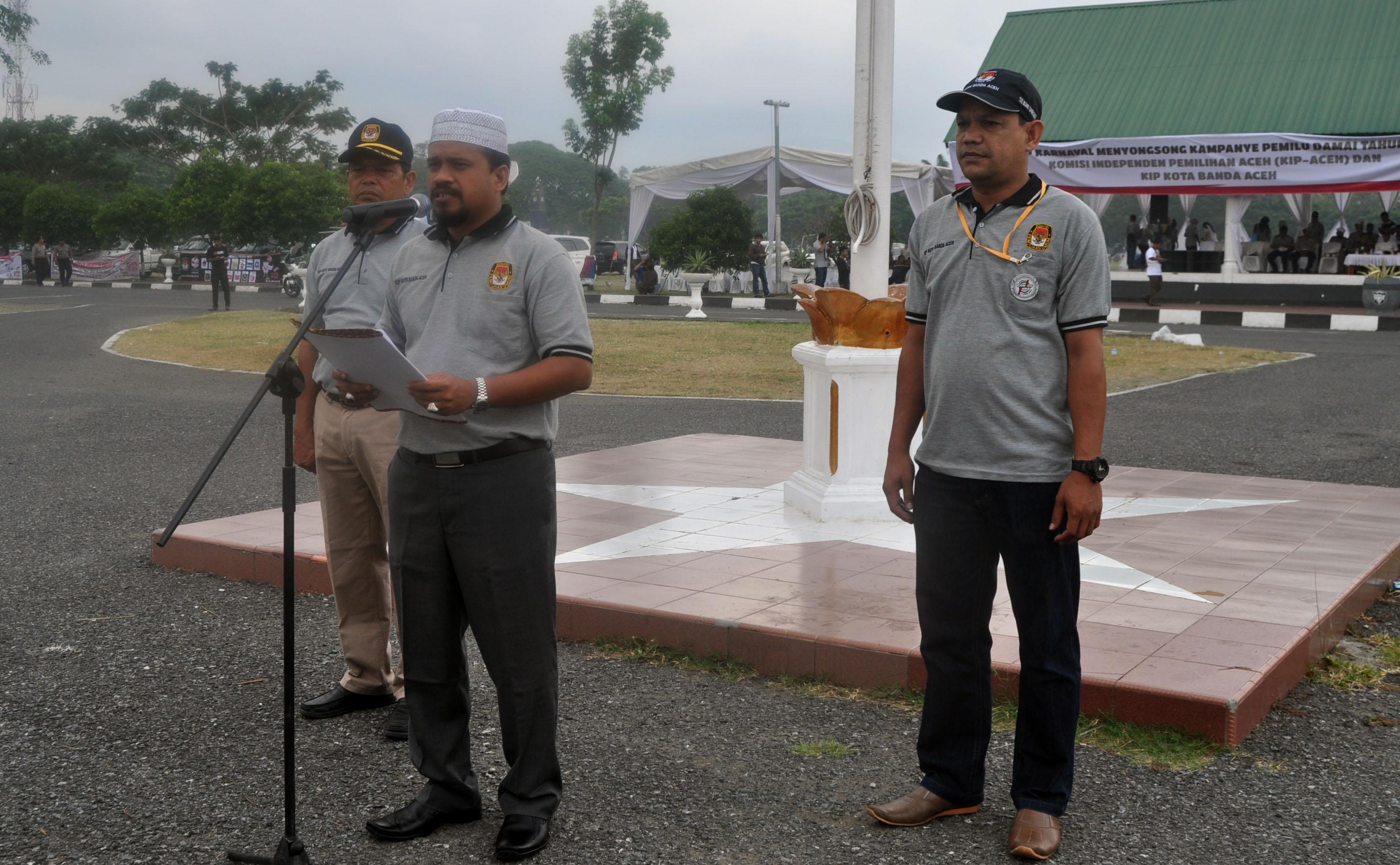 Komisi Independen Pemilihan Kota Banda Aceh Kirab Karnaval Tandai Ketua
