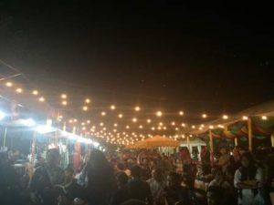 Kopi Arabika Sesaki Pembukaan Festival Internasional Suasana Malam Banda Aceh