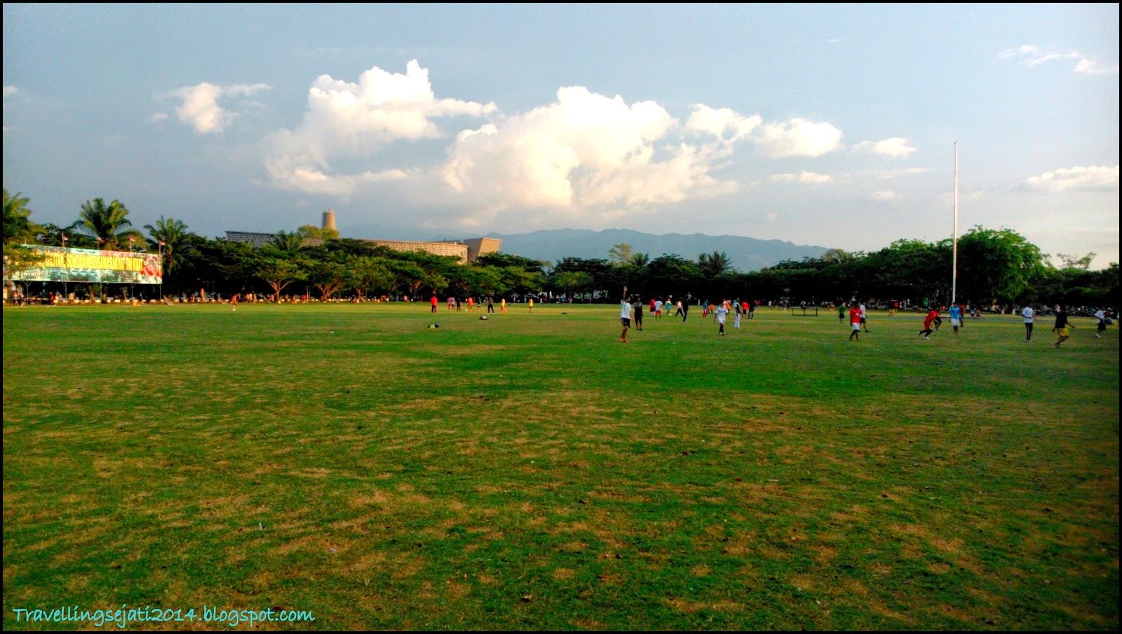 Lapangan Bersejarah Terletak Pusat Kota Banda Aceh Blang Padang