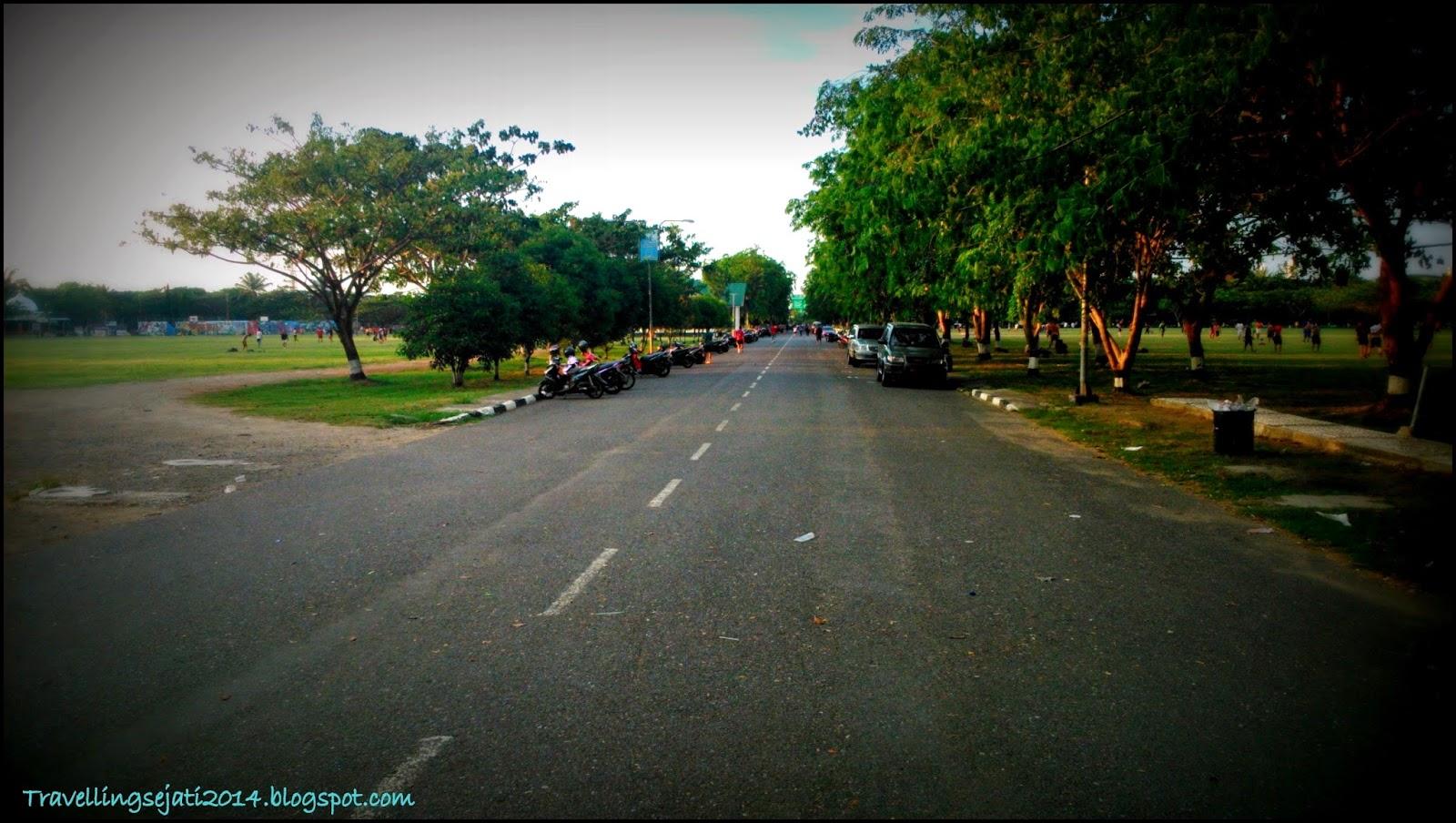 Lapangan Bersejarah Terletak Pusat Kota Banda Aceh Jalan Tengah2 Blang